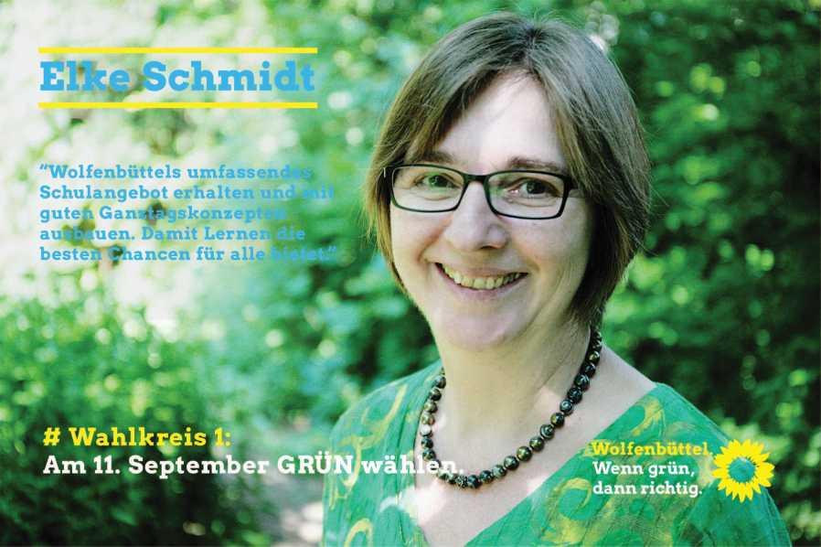 Elke Schmidt kandidatinnen und kandidaten für den stadtrat ortsverband stadt